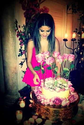 Selena Gomez: su cumpleaños más feliz gracias a la sorpresa
