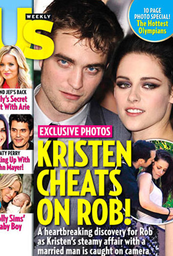 Kristen Stewart le pone los cuernos a Robert Pattinson