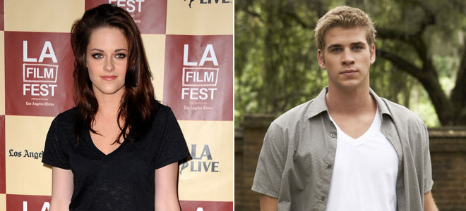 Kristen Stewart y Liam Hemsworth, los actores más sexys de Hollywood