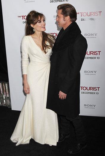 La boda de Brad Pitt y Angelina Jolie