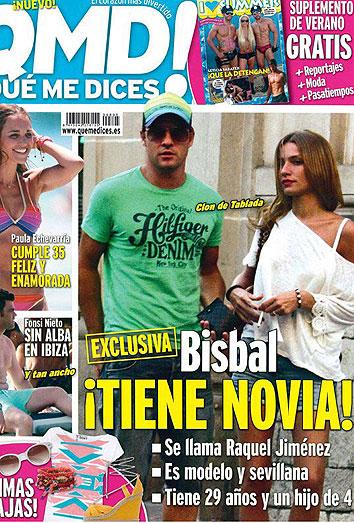 La novia de Bisbal: su relación con la modelo sevillana Raquel Jiménez Gálvez