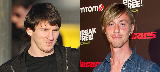 Messi y Guti, pillados borrachos