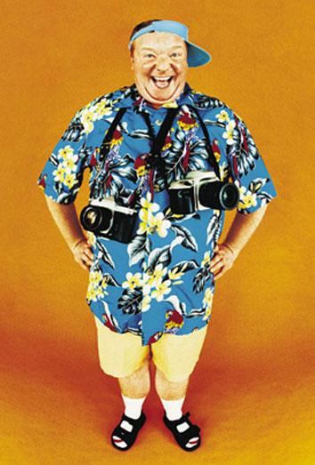 Los turistas peor vestidos: el deterioro de la imagen en vacaciones