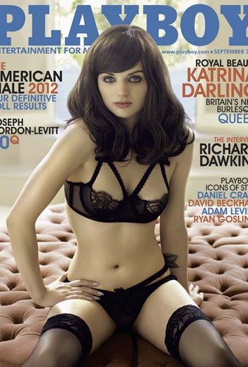 La prima de Kate Middleton, portada de Playboy: Katrina Darling