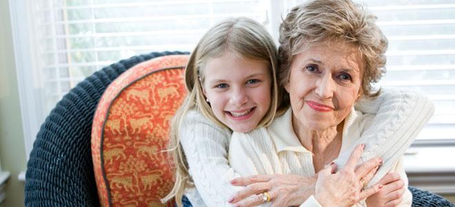 Ser abuela, mucho más divertido que ser madre