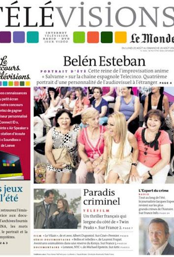 Belén Esteban en Le Monde