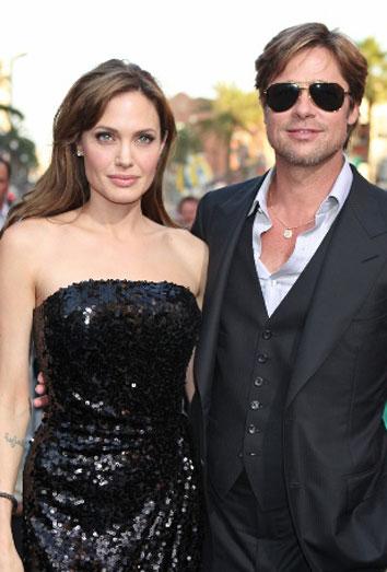 La despedida de soltero de Brad Pitt... y la bronca de Angelina Jolie