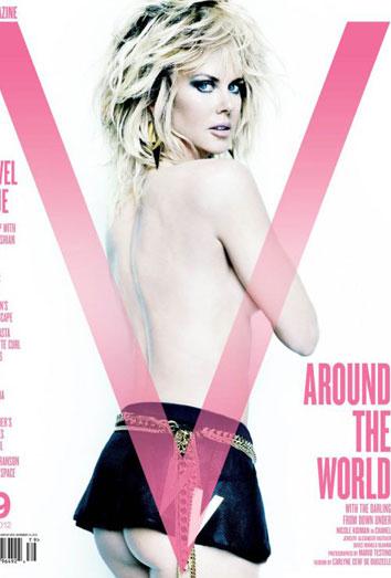 Nicole Kidman desnuda