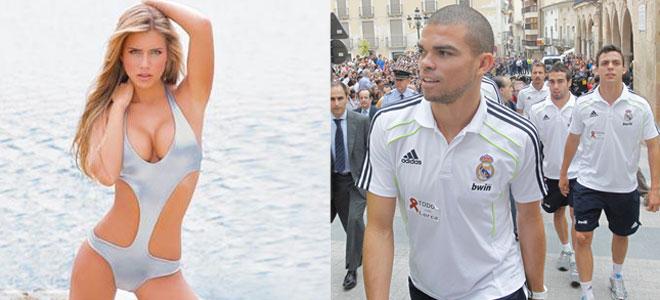 La previa del Real Madrid Barcelona: la explosiva novia de Pepe da a luz