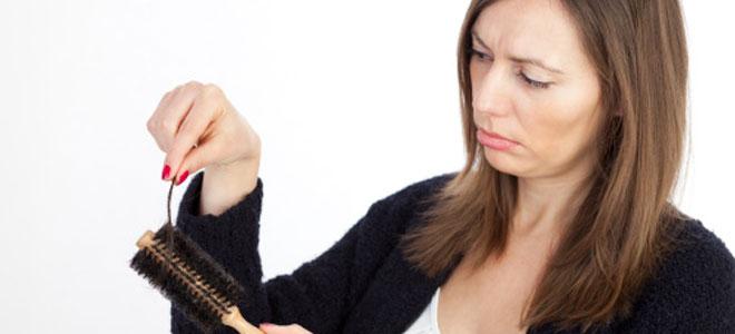 Caída pelo. Culpa del otoño