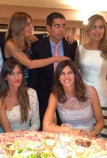 Vestido de Sara Carbonero en la boda de Susana Guasch