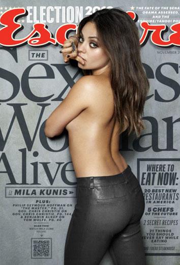 Mila Kunis: de novia de Ashton Kutcher a la mujer más sexy del planeta