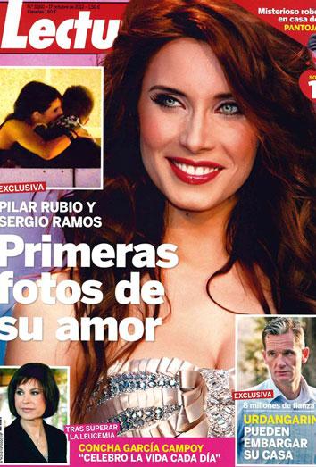 Pilar Rubio y Sergio Ramos, pillados. El primer beso de los nuevos Iker y Sara