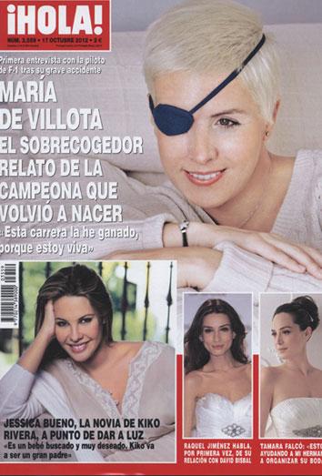 María de Villota da la cara tras un trágico accidente en el que perdió un ojo