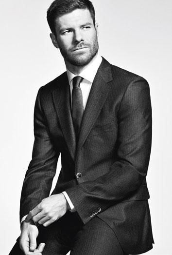 Xabi Alonso, el nuevo modelo de moda. su anuncio para el corte ingles