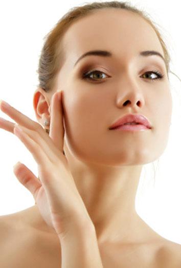 Eliminar los brillos de la cara