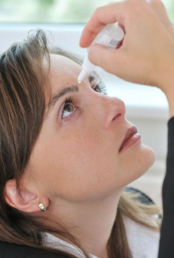 Cuidar los ojos secos