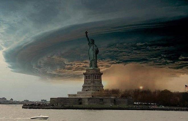 Huracán Sandy en Nueva York. Profecía maya del fin del mundo 2012