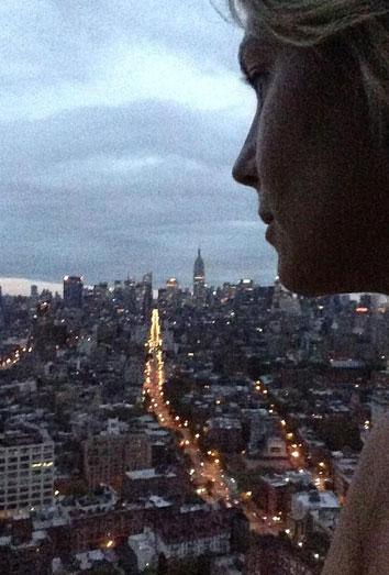 El huracán Sandy, desde Nueva York. Los famosos informan en Twitter