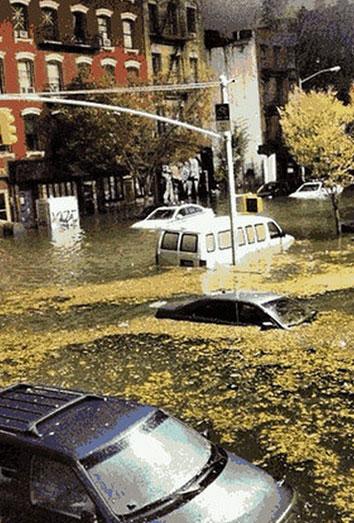 El huracán Sandy disfraza Nueva York: un Halloween 2012 muy diferente