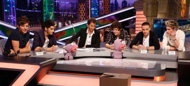 One Direction en El Hormiguero, Madrid, España