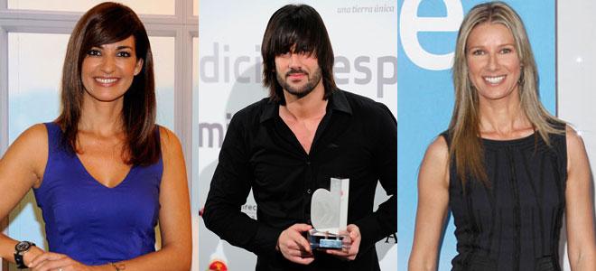 Mariló Montero, Melendi, Anne Igartiburu, campanadas 2012