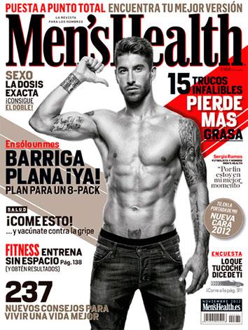 Sergio Ramos luce el cuerpazo que conquistó a Pilar Rubio