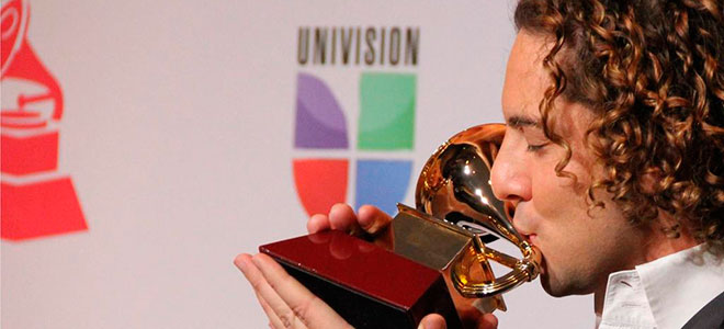 David Bisbal en los Grammy latinos 2012