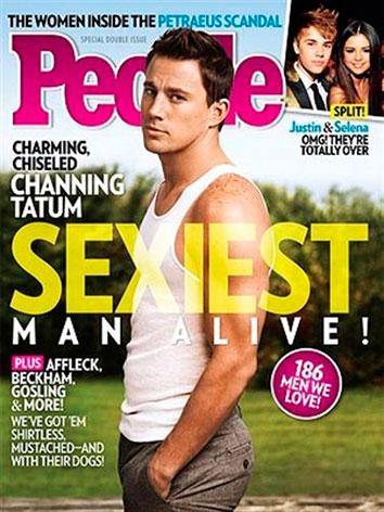 Channing Tatum, hombre más sexy 2012