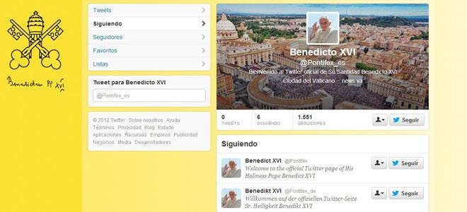 Que el Papa tiene Twitter
