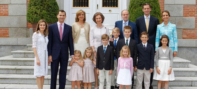 La Familia Real se reúne en Navidad