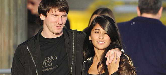 Antonella Roccuzzo y Thiago Messi, más lindo asún que el Balón de Oro