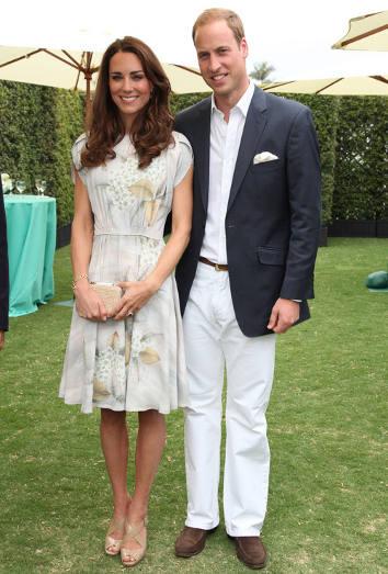 Kate Middleton y el príncipe Guillermo de Inglaterra