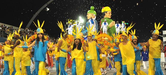 Los mejores carnavales. el carnaval de brasil