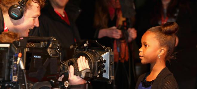 Quvenzhné Wallis, la niña nominado a los Oscar