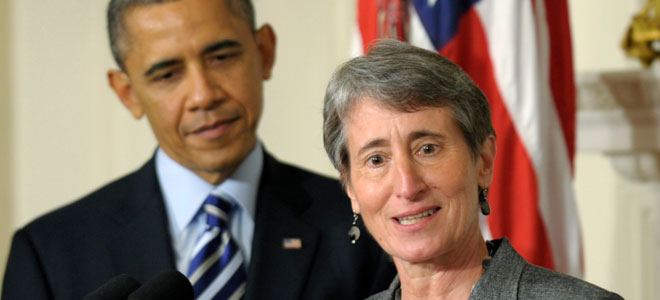 Sally Jewell, la primera mujer del 'nuevo' Obama.