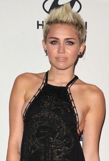 Miley Cyrus en los pre-Grammy