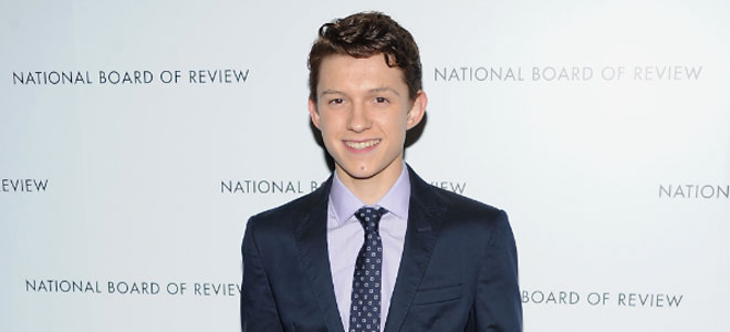 Tom Holland, de Billy Elliot a los Goya 2013.