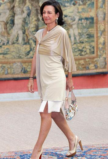 Ana Botín, tercera mujer más poderosa en Reino Unido.