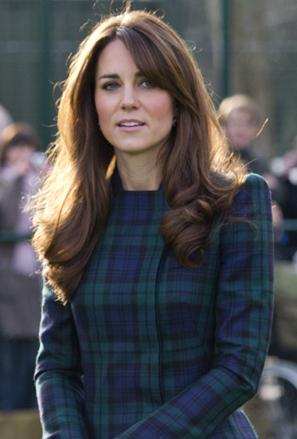 Kate Middleton de Alexander Mc Queen