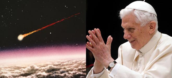 Nostradamus unió el meteorito de Rusia con la elección de un nuevo Papa.