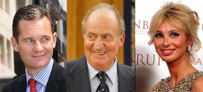 Corinna, el Rey don Juan Carlos y Urdangarin.