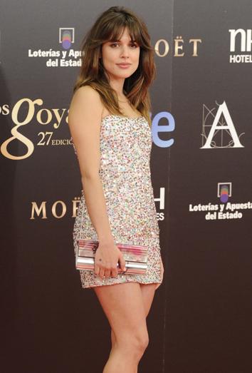 Adriana Ugarte, la peor vestida de los Goya 2013