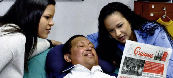 Las fotos oficiales de Chávez.