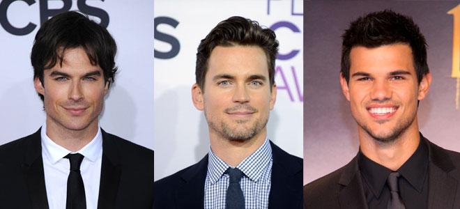Candidatos a protagonizar la película 50 sombras de Grey