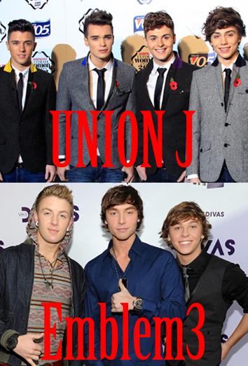 Emblem 3 y Union J luchan por ser los nuevos One Direction