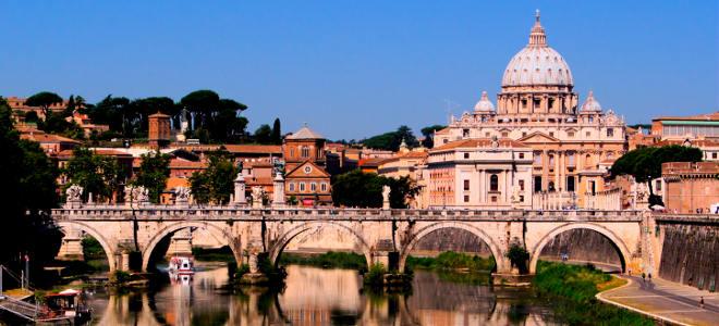 Vaticano y Roma, destinos de moda