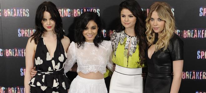 Las protagonistas de Spring Breakers: Selena Gomez y Vanessa Hudgens