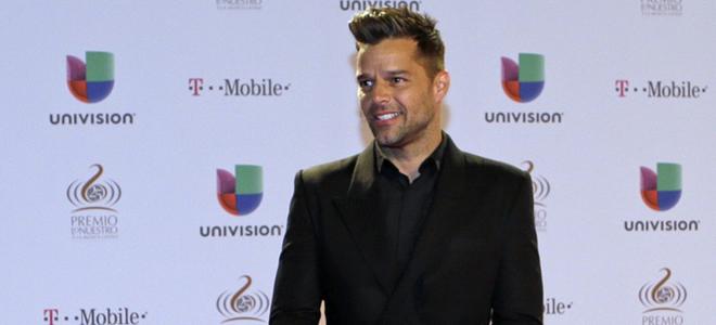 Ricky Martin, asistente a los premios Lo Nuestro 2013