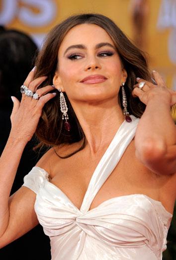 Sofía Vergara, ausente de los Oscar 2013.